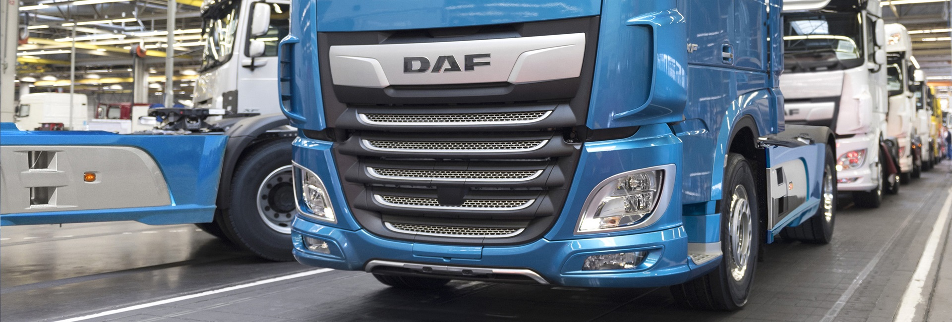 DAF truck factory