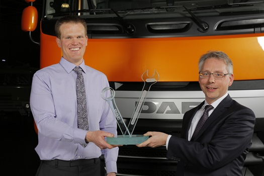 DAF European Technician of the Year 2016