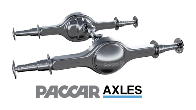PACCAR axle