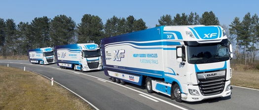 DAF in platooning trial