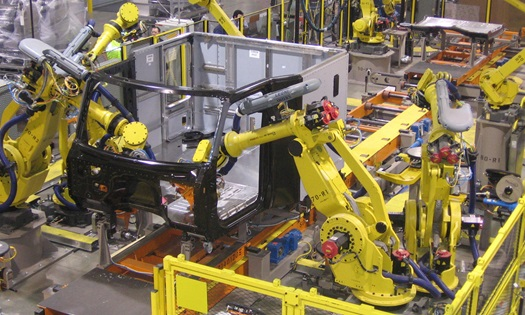 Robotic cab assembly