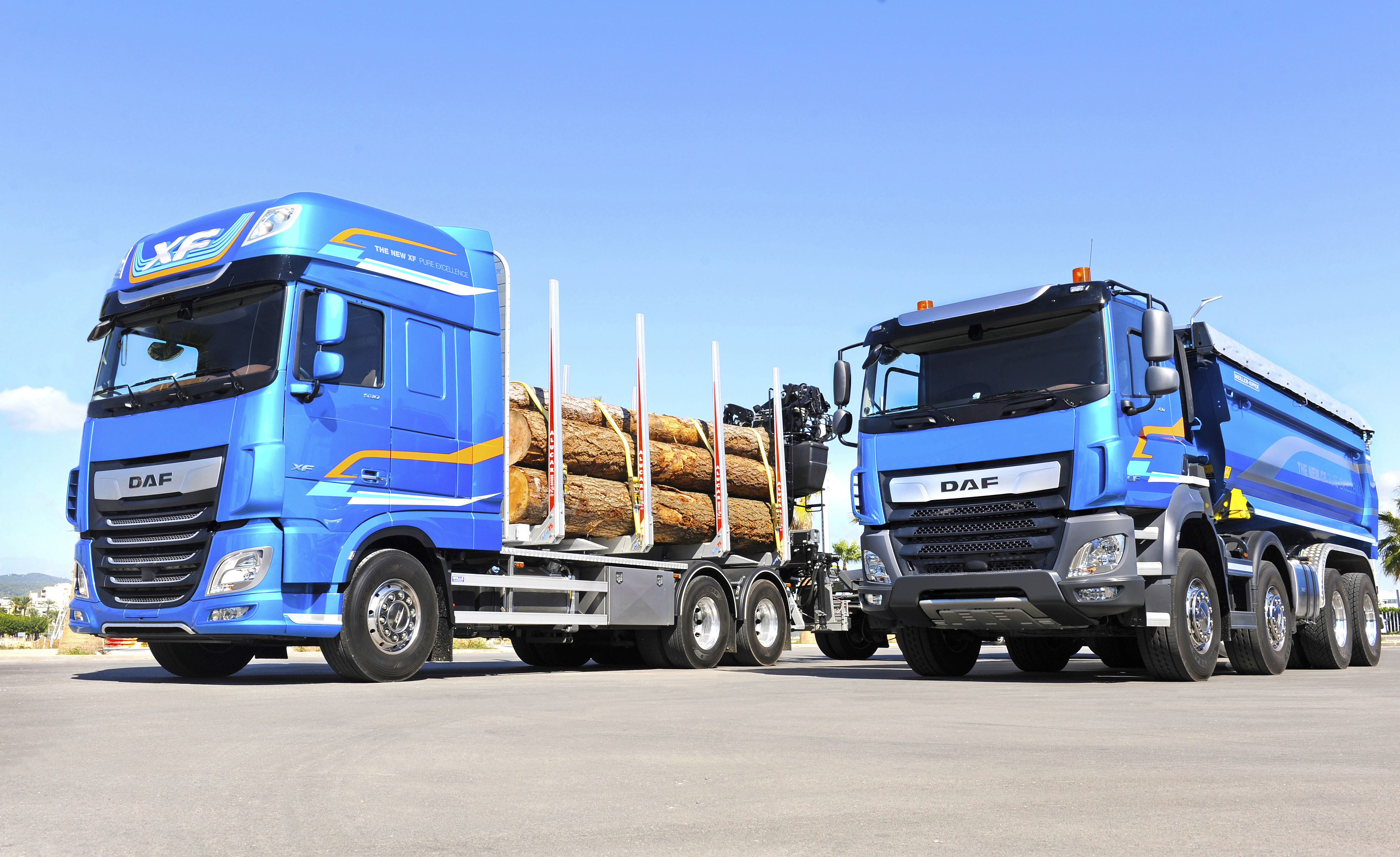 The New XF and CF Vocational Trucks