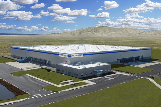 New PACCAR Parts Distribution Center in Las Vegas, Nevada (rendering)