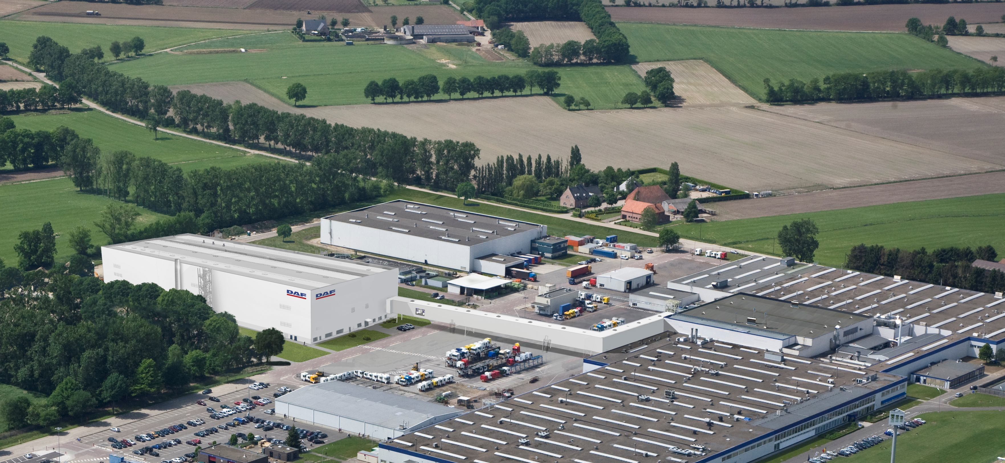 DAF invests 100 mln in new paint shop
