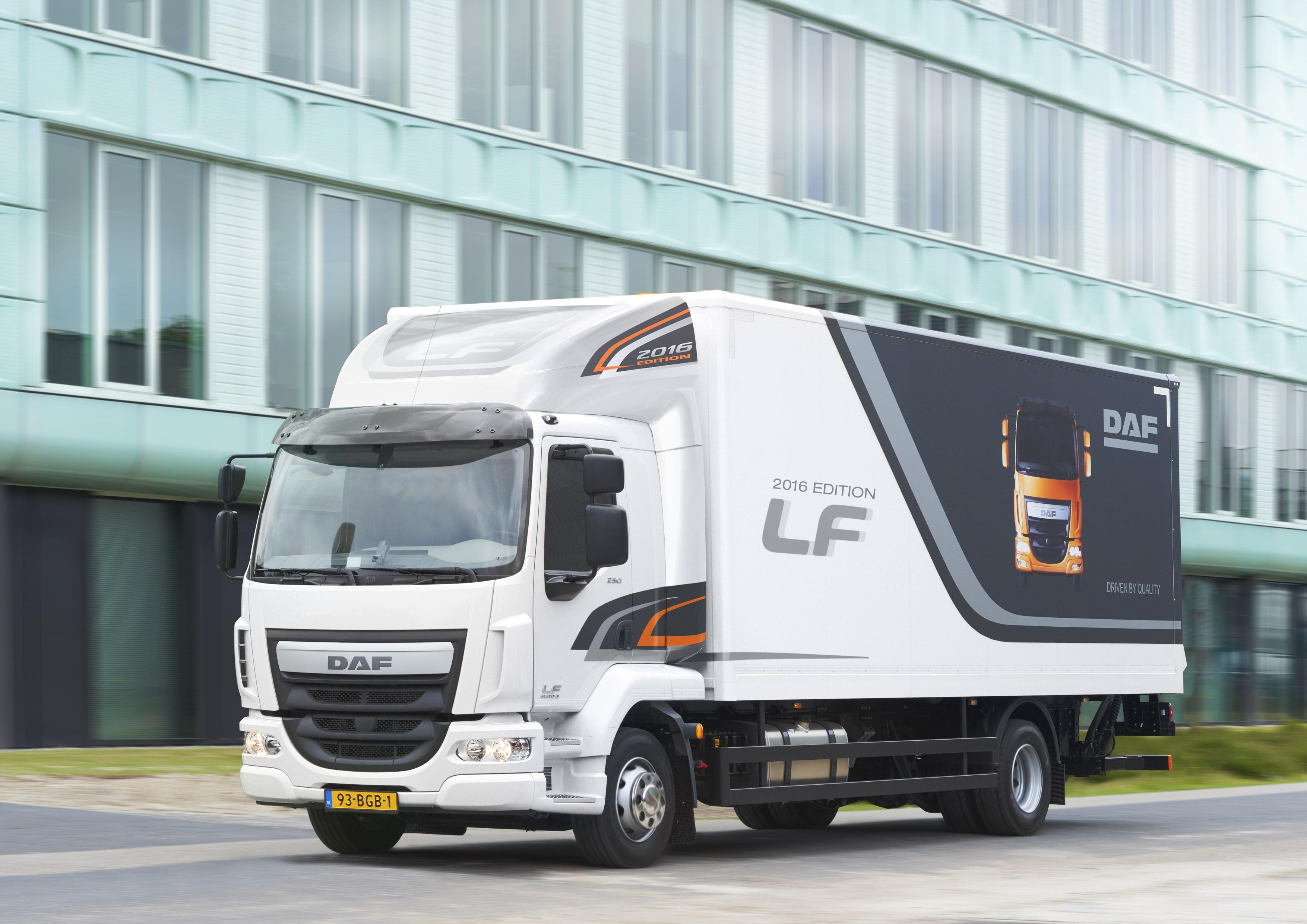 DAF introduces LF 2016 Edition - DAF Trucks N V