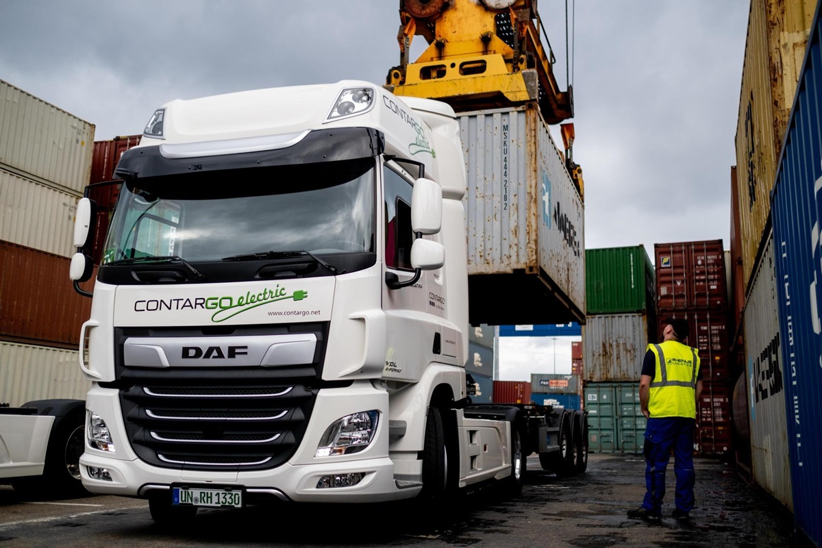 Contargo Containerlogistiek Electric
