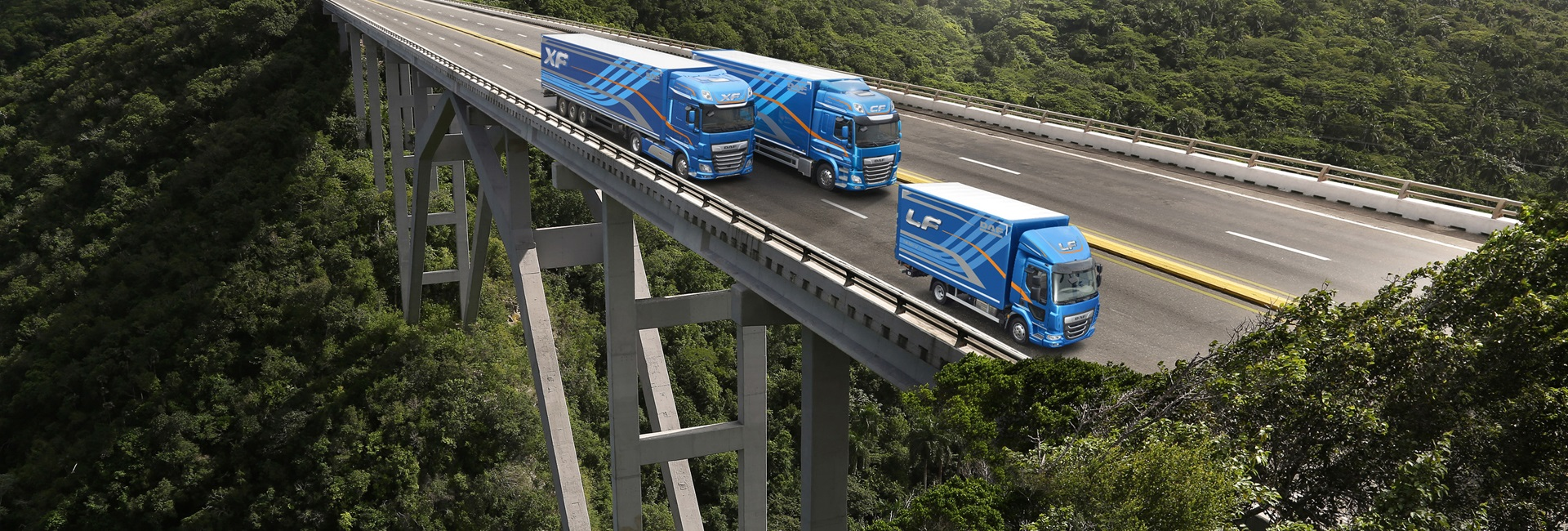 DAF Euro 6 model range - DAF Trucks N V