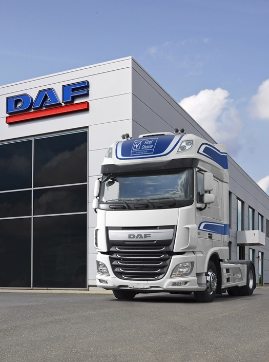 DAF Euro 6 model range - DAF Trucks N V