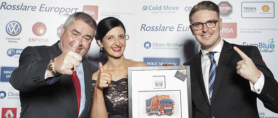 DAF awarded Irish Truck of the Year