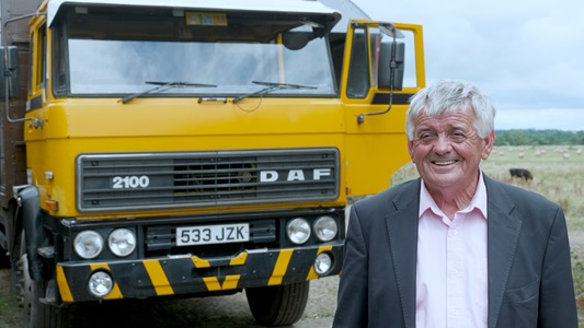 John-Tarrent-and-his-DAF-2100-from-1984