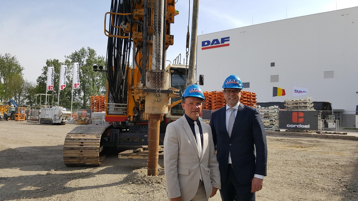 DAF invests EUR 200 million in Westerlo cab plant