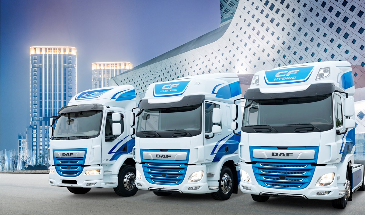 DAF Innovation Trucks